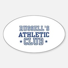 Russell Oval Decal