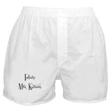 Future  Mrs. Karson Boxer Shorts