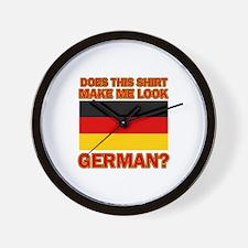 German flag designs Wall Clock