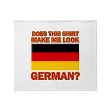 German flag designs Throw Blanket