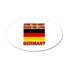 German flag designs Wall Decal