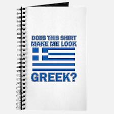 Greek flag designs Journal