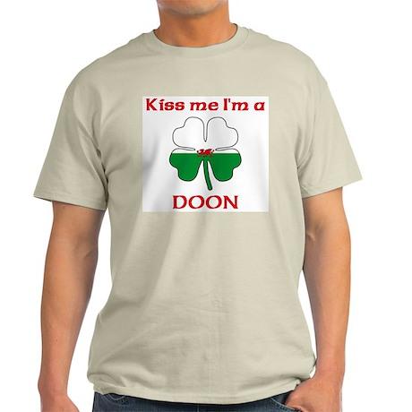 Doon Family Ash Grey T-Shirt