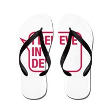 I Believe In Devin Flip Flops