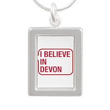 I Believe In Devon Necklaces
