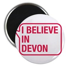 "I Believe In Devon 2.25"" Magnet (10 pack)"