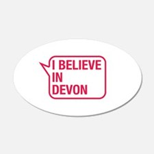 I Believe In Devon Wall Decal