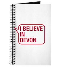 I Believe In Devon Journal