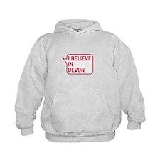 I Believe In Devon Hoodie