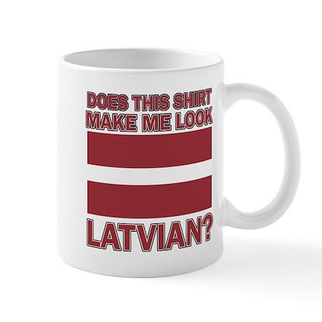 Latvian flag designs Mug