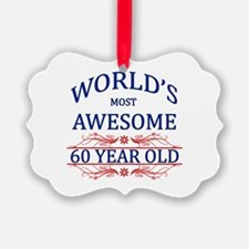 World's Most Awesome 60 Year Old Ornament