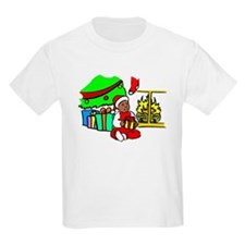 Baby's First Christmas Kids T-Shirt