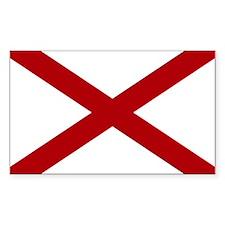 Alabama State Flag Decal