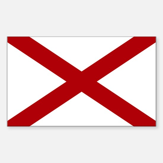 Alabama State Flag Decal