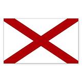 Alabama state flag Single