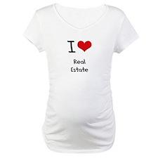 I Love Real Estate Shirt