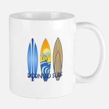 Born 2 Surf Mug