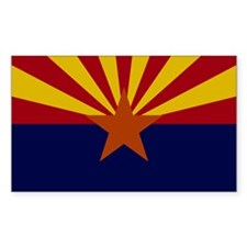 Arizona State Flag Decal