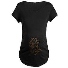 Dancing Ganesh Maternity T-Shirt
