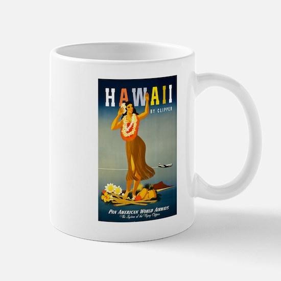Vintage Hawaiian Travel Mug