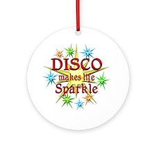 Disco Sparkles Ornament (Round)