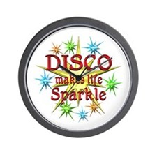 Disco Sparkles Wall Clock