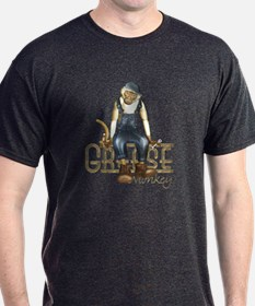 Funny Grease Monkey Mechanic T-Shirt