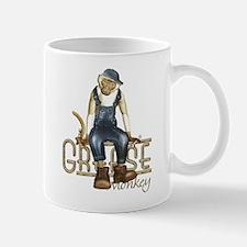 Funny Grease Monkey Mechanic Mug