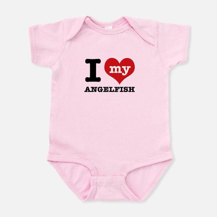 I love my Angelfish Infant Bodysuit
