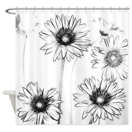 FotoSketcher Image Shower Curtain