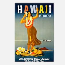 Vintage Hawaiian Travel Postcards (Package of 8)