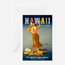 Vintage Hawaiian Travel Greeting Card