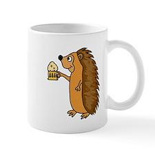 Hedgehog with a Beer Mug