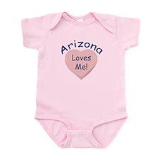 Arizona Loves Me Baby Girl Body Suit
