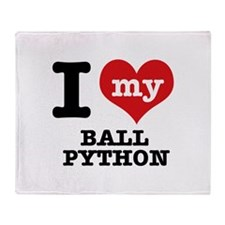 I love my Ball Python Throw Blanket
