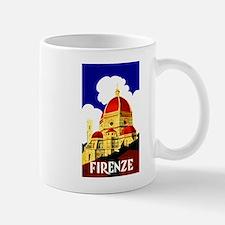 Vintage Florence Italy Travel Mug