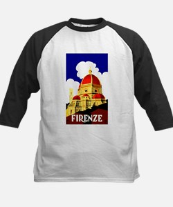 Vintage Florence Italy Travel Baseball Jersey