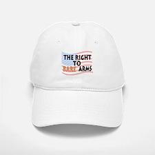 The Right To Bare Arms Baseball Baseball Baseball Cap