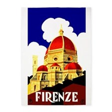 Vintage Florence Italy Travel 5'x7'Area Rug