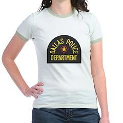 Dallas Police Jr. Ringer T-Shirt