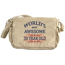 World's Most Awesome 30 Year Old Messenger Bag