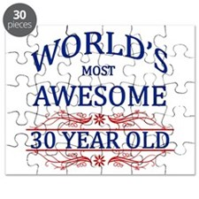 World's Most Awesome 30 Year Old Puzzle