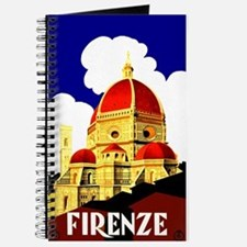Vintage Florence Italy Travel Journal