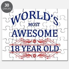 World's Most Awesome 18 Year Old Puzzle