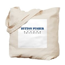 Button Pusher - Dharma Initiative Tote Bag