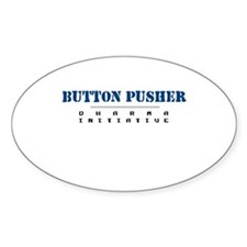 Button Pusher - Dharma Initiative Oval Decal