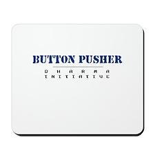 Button Pusher - Dharma Initiative Mousepad