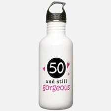50th Birthday Gorgeous Water Bottle