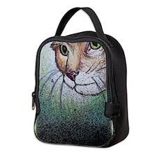 Cat! Animal, pet art! Neoprene Lunch Bag