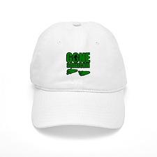 Gone Squatchin green footprints Baseball Cap